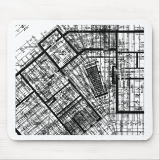 architecture 2 mouse pad