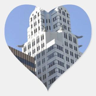 Architecture along the Las Vegas Strip.jpg Heart Sticker