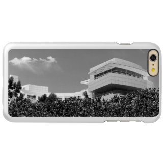 Architecture at The Getty Center in Black & White Incipio Feather Shine iPhone 6 Plus Case