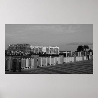 Architecture at the Ravenel Bridge Poster