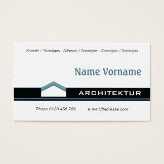 Architecture Bauhaus Business Card