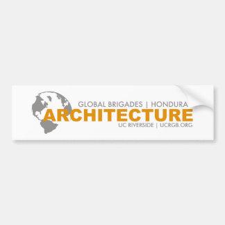 Architecture Brigade Bumper Sticker