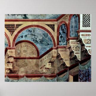Architecture by Giotto di Bondone Poster