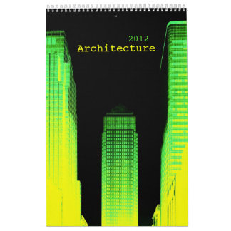 architecture wall calendars