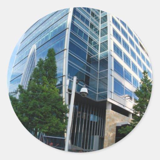 Architecture Classic Round Sticker
