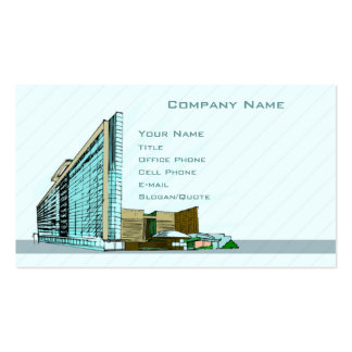 Architecture Double-Sided Standard Business Cards (Pack Of 100)