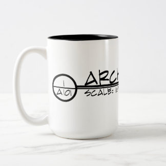 Architecture Drawing Title Mug (dark)