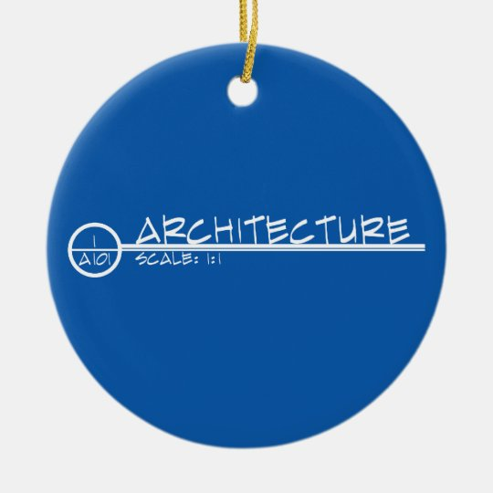 Architecture Drawing Title Ornament (light)