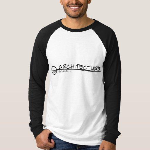 Architecture Drawing Title Shirt (dark)