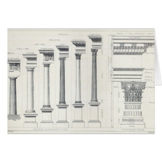 Architecture I: Orders of Architecture Card
