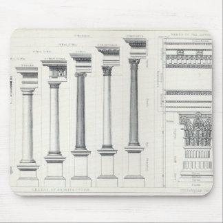 Architecture I: Orders of Architecture Mouse Pad