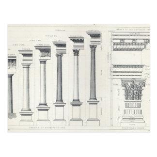 Architecture I: Orders of Architecture Postcard