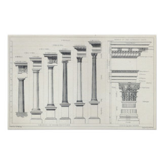 Architecture I: Orders of Architecture Poster