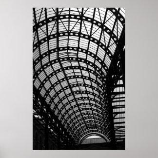 Architecture in Black & White Poster