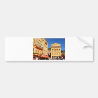 Architecture in Nice, France Bumper Sticker