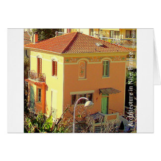 Architecture in Nice, France Card