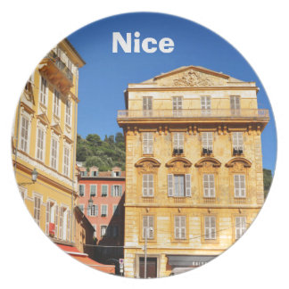 Architecture in Nice, France Dinner Plate