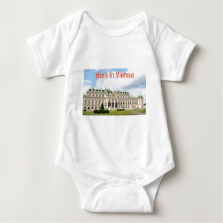 Architecture in Vienna, Austria Baby Bodysuit