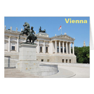 Architecture in Vienna, Austria Card
