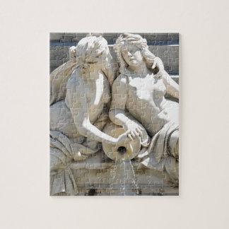 Architecture in Vienna, Austria Jigsaw Puzzle