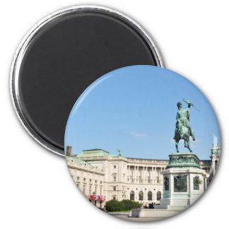 Architecture in Vienna, Austria Magnet
