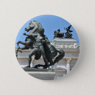 Architecture in Vienna, Austria Pinback Button