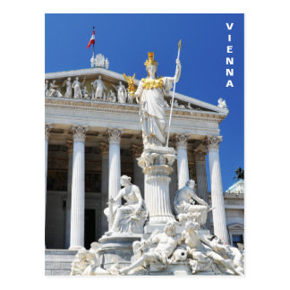 Architecture in Vienna, Austria Postcard