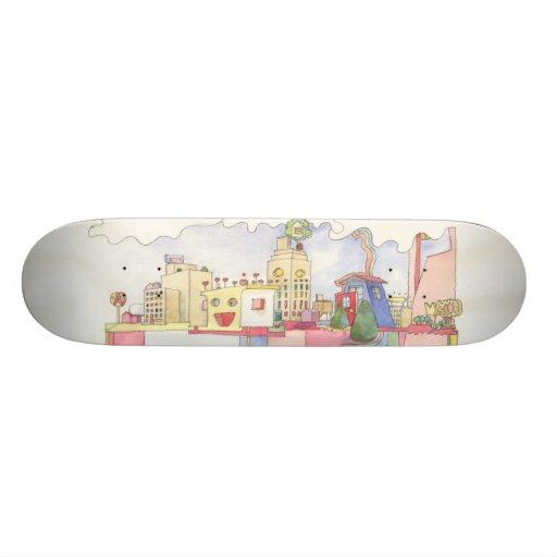 Architecture Is Fun Dream Deck Skate Decks