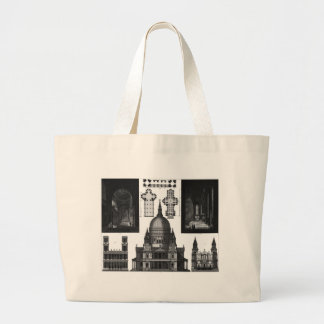 ARCHITECTURE LARGE TOTE BAG