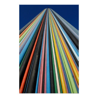 architecture lines poster
