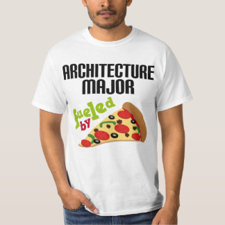 Architecture Major Gift (Pizza) Tee Shirt