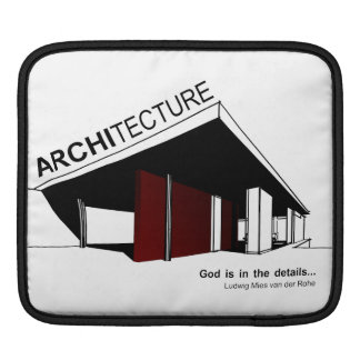Architecture: Mies van der Rohe iPad Sleeves