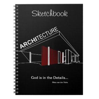 Architecture: Mies van der Rohe Spiral Notebook