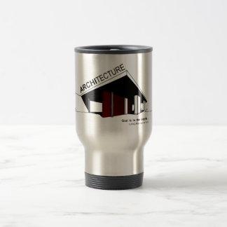 Architecture: Mies van der Rohe Travel Mug