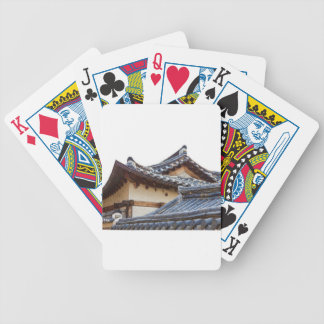 Architecture Of Bukchon Hanok Village Bicycle Playing Cards
