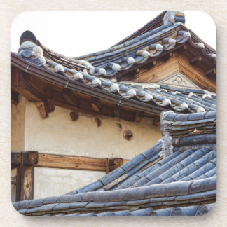 Architecture Of Bukchon Hanok Village Drink Coaster
