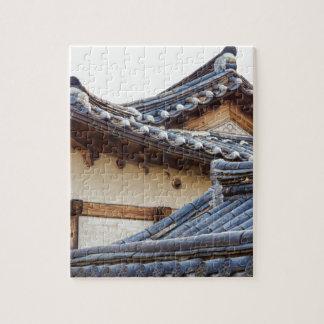 Architecture Of Bukchon Hanok Village Puzzle