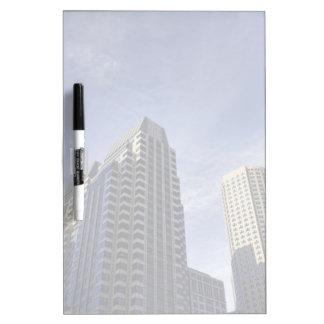 Architecture of downtown Boston Dry Erase Board