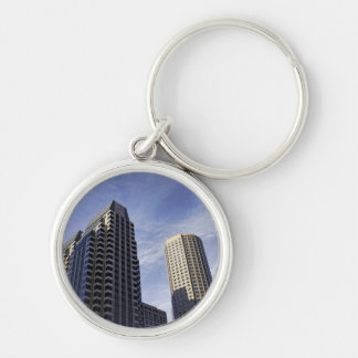 Architecture of downtown Boston Keychain
