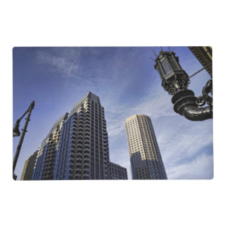Architecture of downtown Boston Placemat