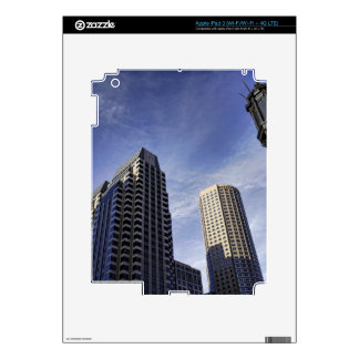 Architecture of downtown Boston Skin For iPad 3