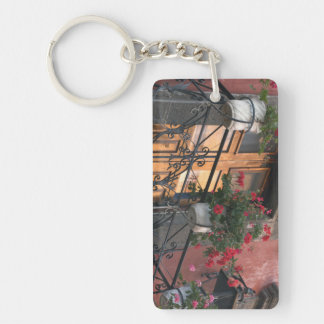 Architecture on the streets of San Miguel de Acrylic Key Chains