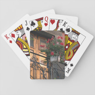 Architecture on the streets of San Miguel de Playing Cards