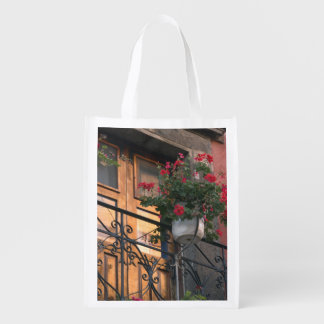 Architecture on the streets of San Miguel de Reusable Grocery Bags