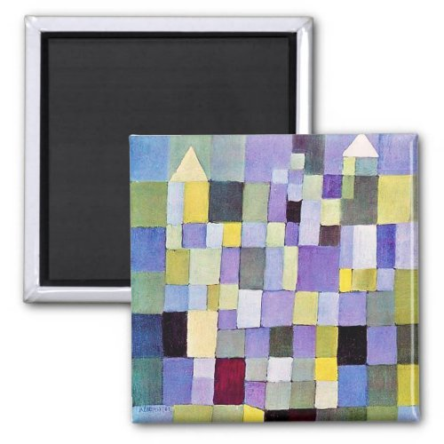 Architecture Paul Klee Magnet