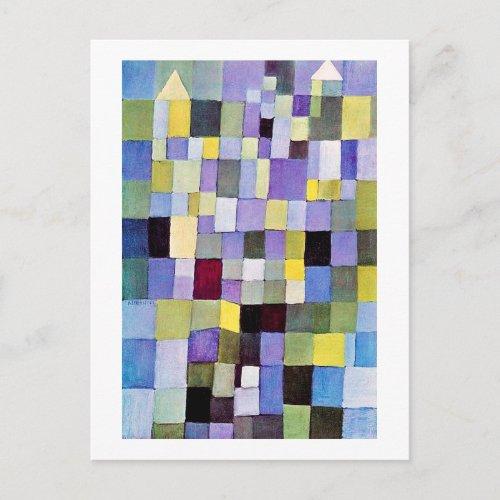 Architecture Paul Klee Postcard