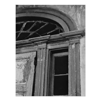 Architecture Photo - Abandoned House Door Poster