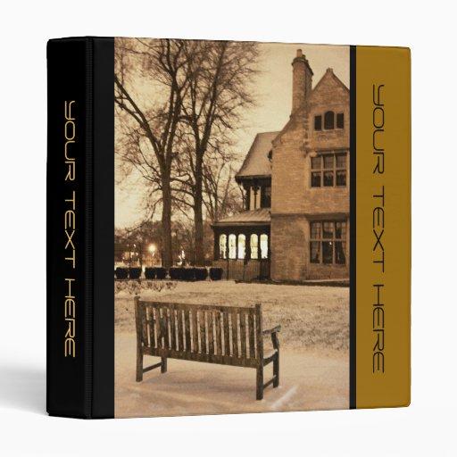 Architecture Photo Business Binder Zazzle