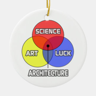 Architecture .. Science Art Luck Christmas Ornament