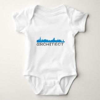 Architecture Skylines! Baby Bodysuit